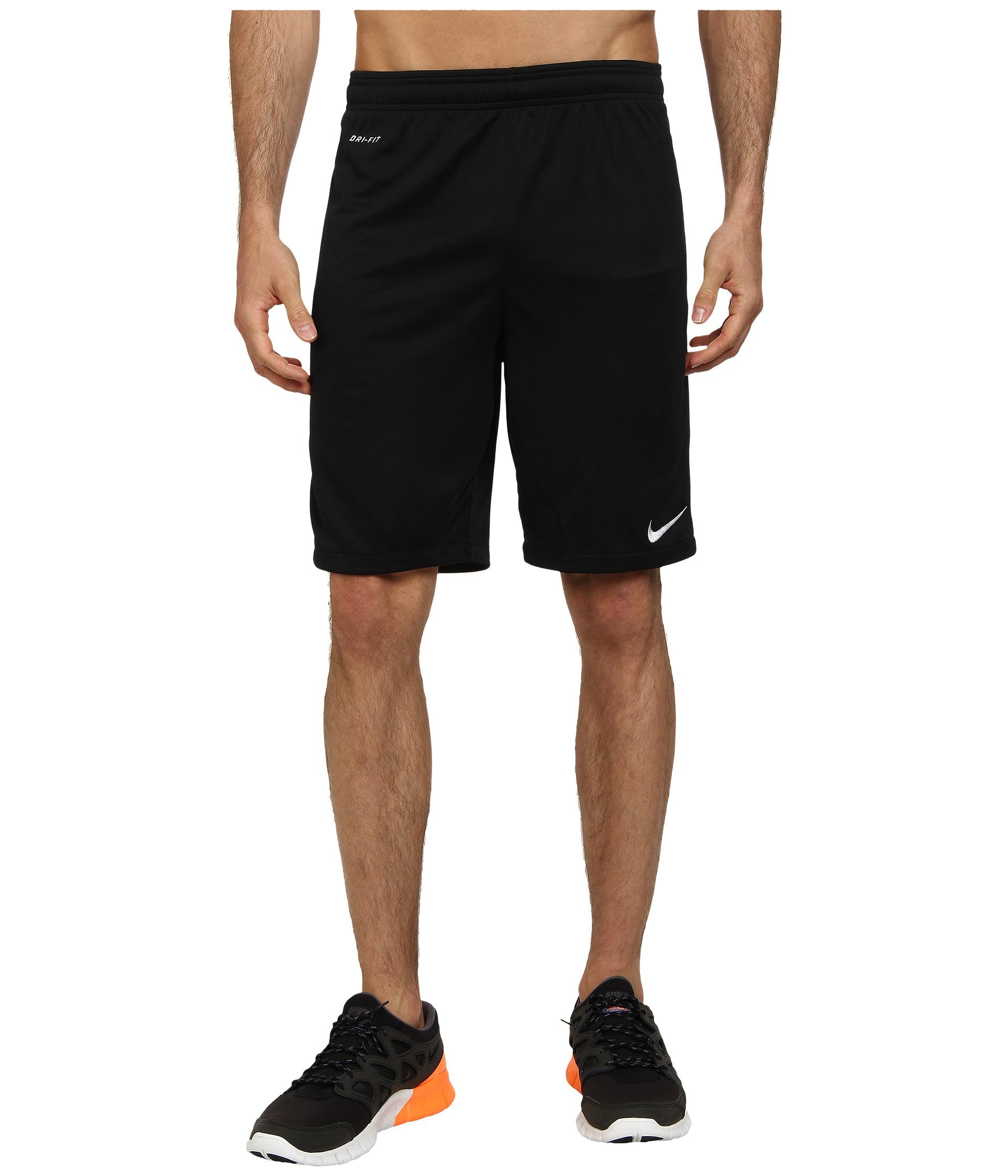 c5bd4404a Nike Academy Longer Knit Short 2 in Black for Men - Lyst