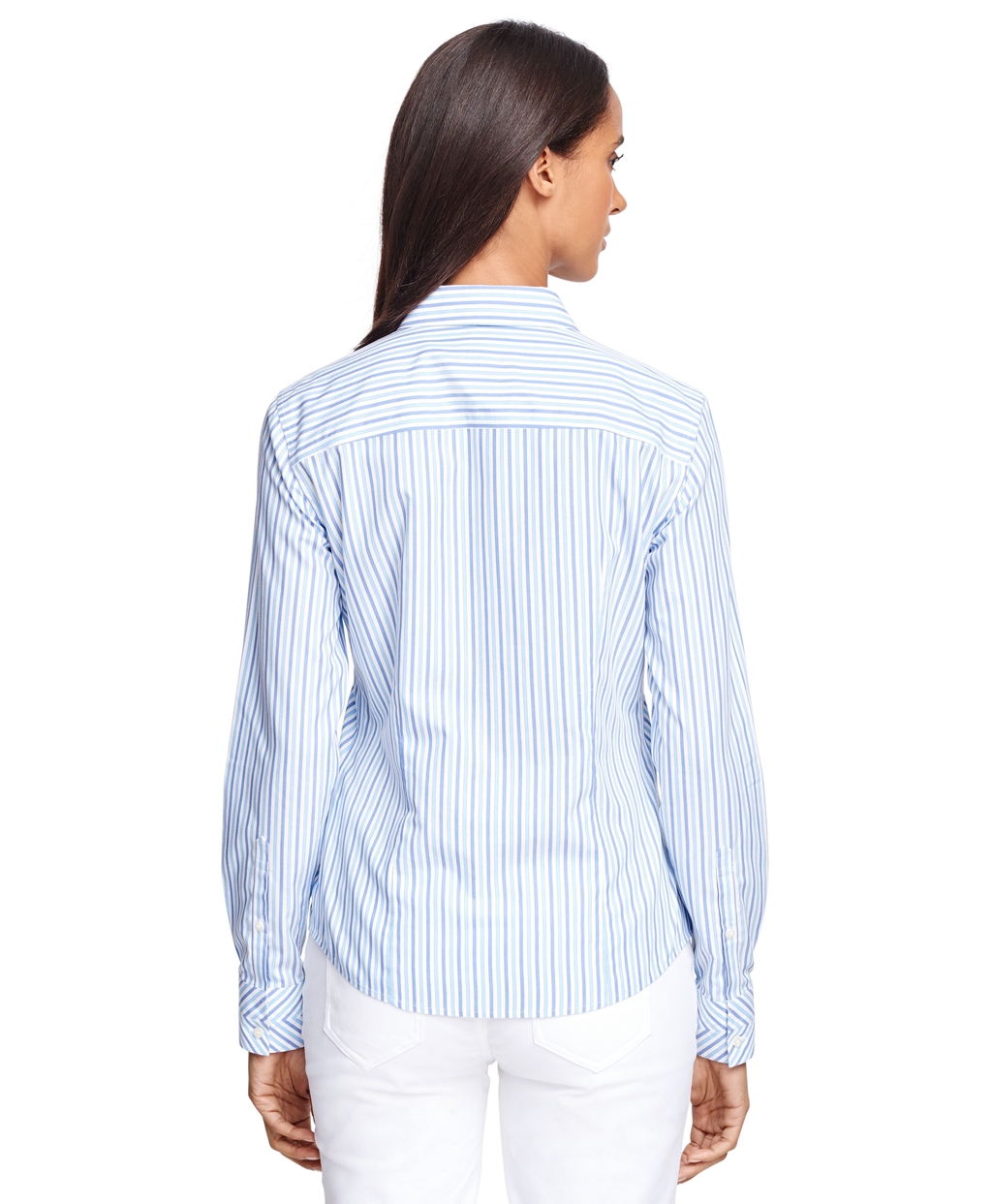 Brooks Brothers Petite Non Iron Fitted Supima Cotton