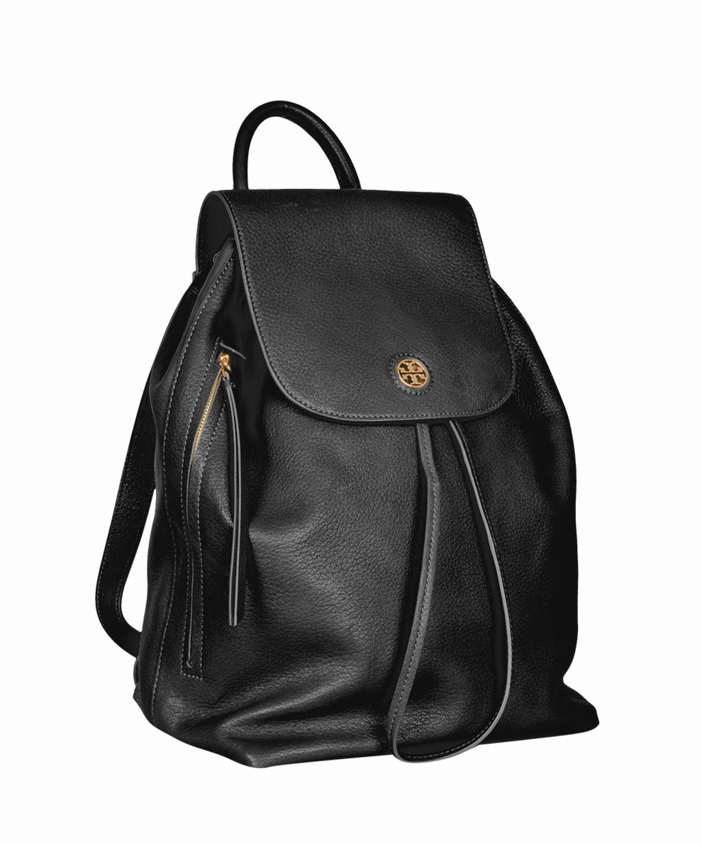 e347cb1b112d Lyst - Tory Burch Brody Leather Backpack in Black