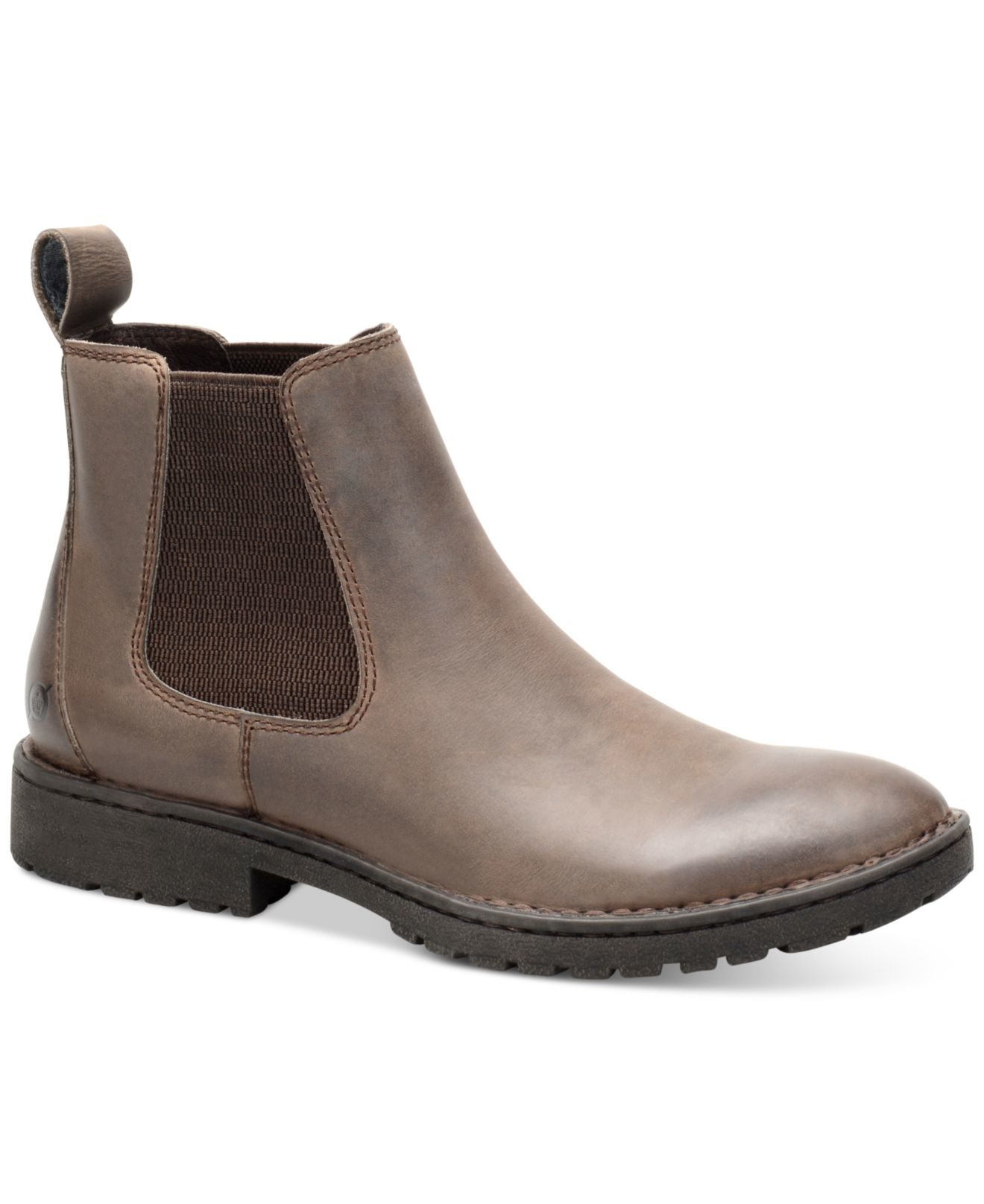 born julian chelsea boots in brown for lyst