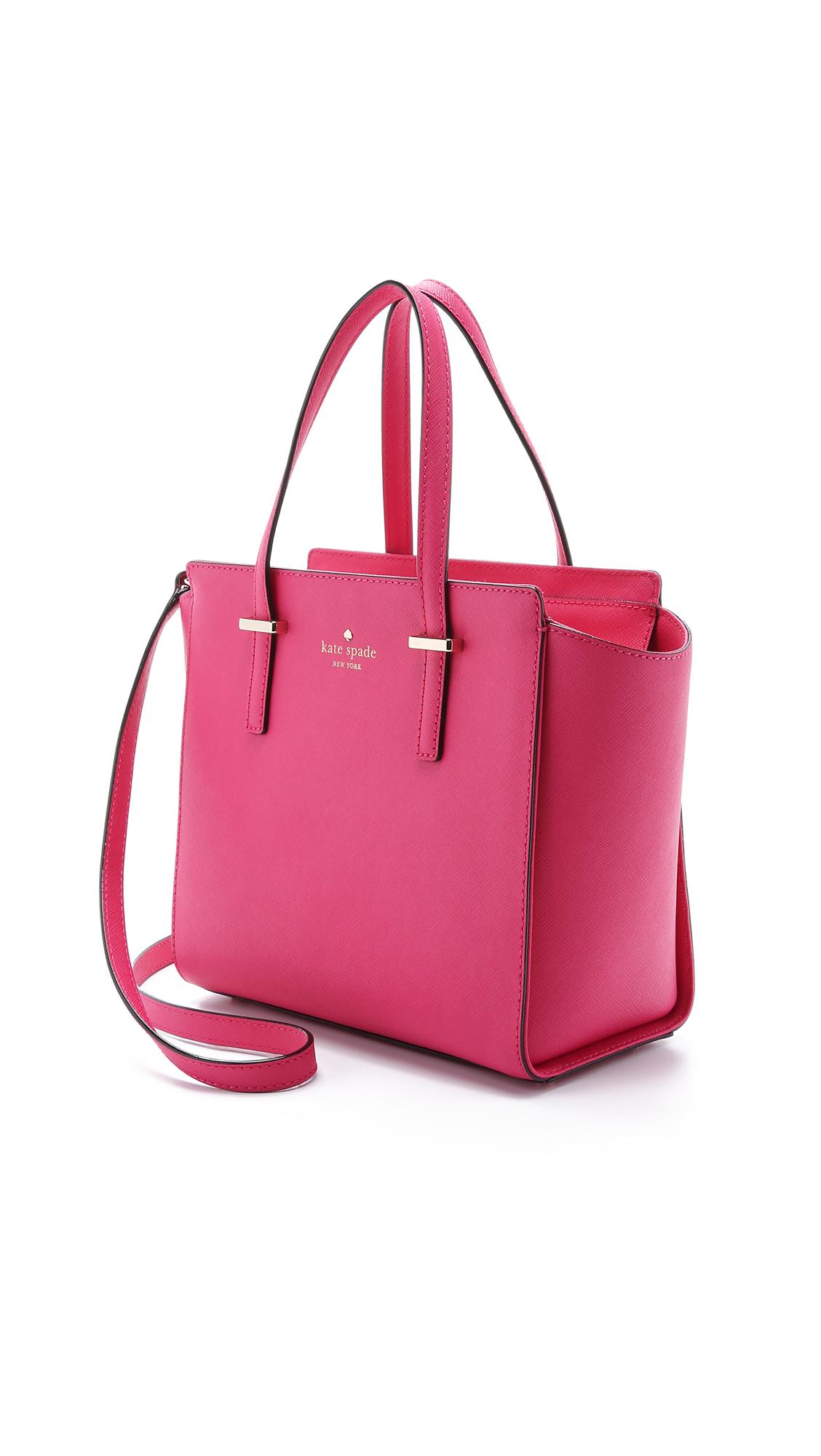 Kate spade Small Hayden Satchel - Sweetheart Pink in Pink ...