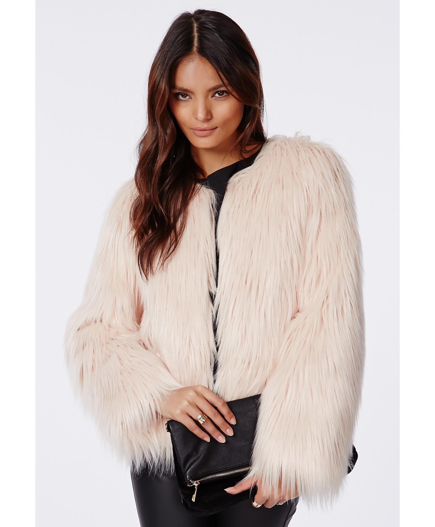 Nude In Fur Coat 22