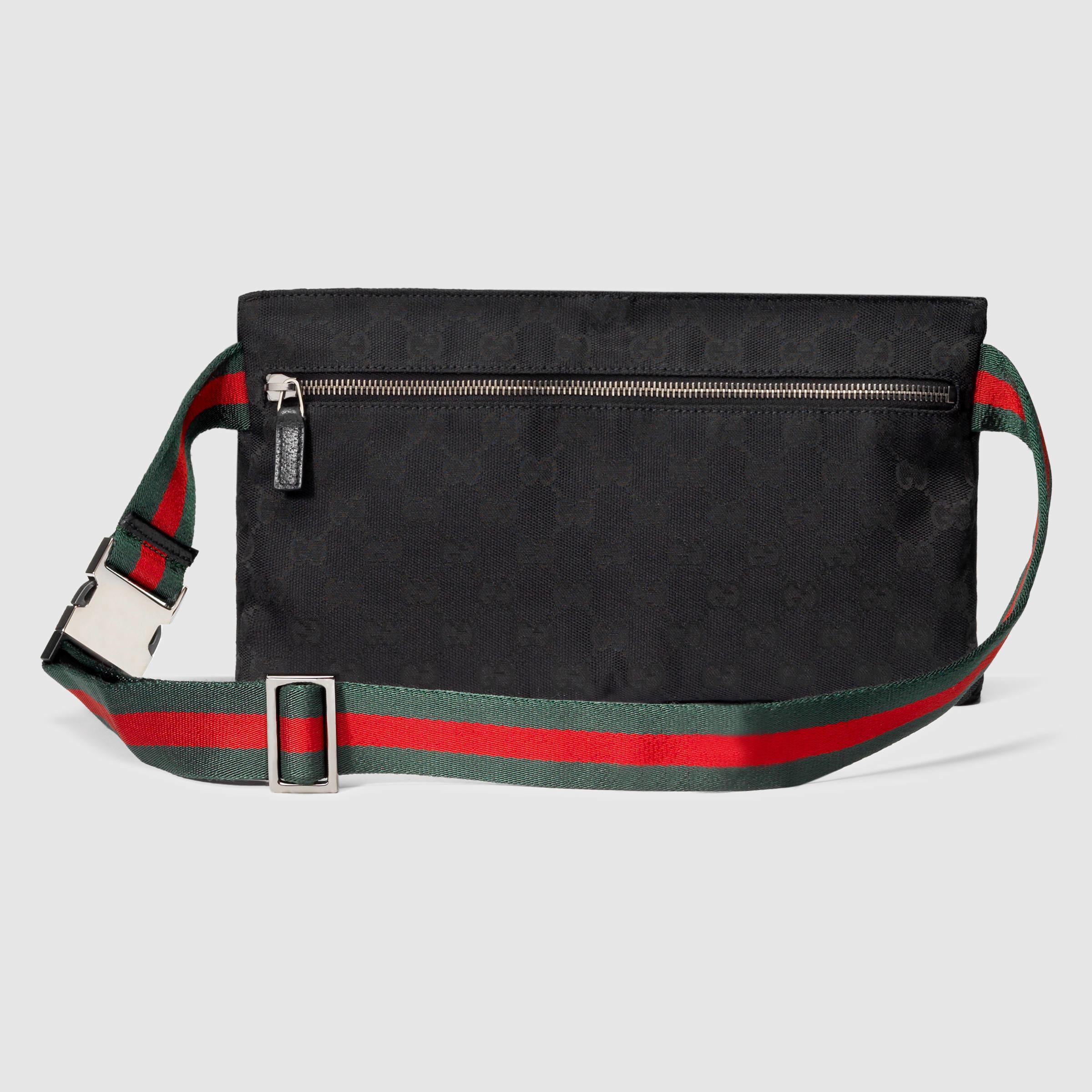 Gucci Original Gg Canvas Belt Bag in Black for Men - Lyst