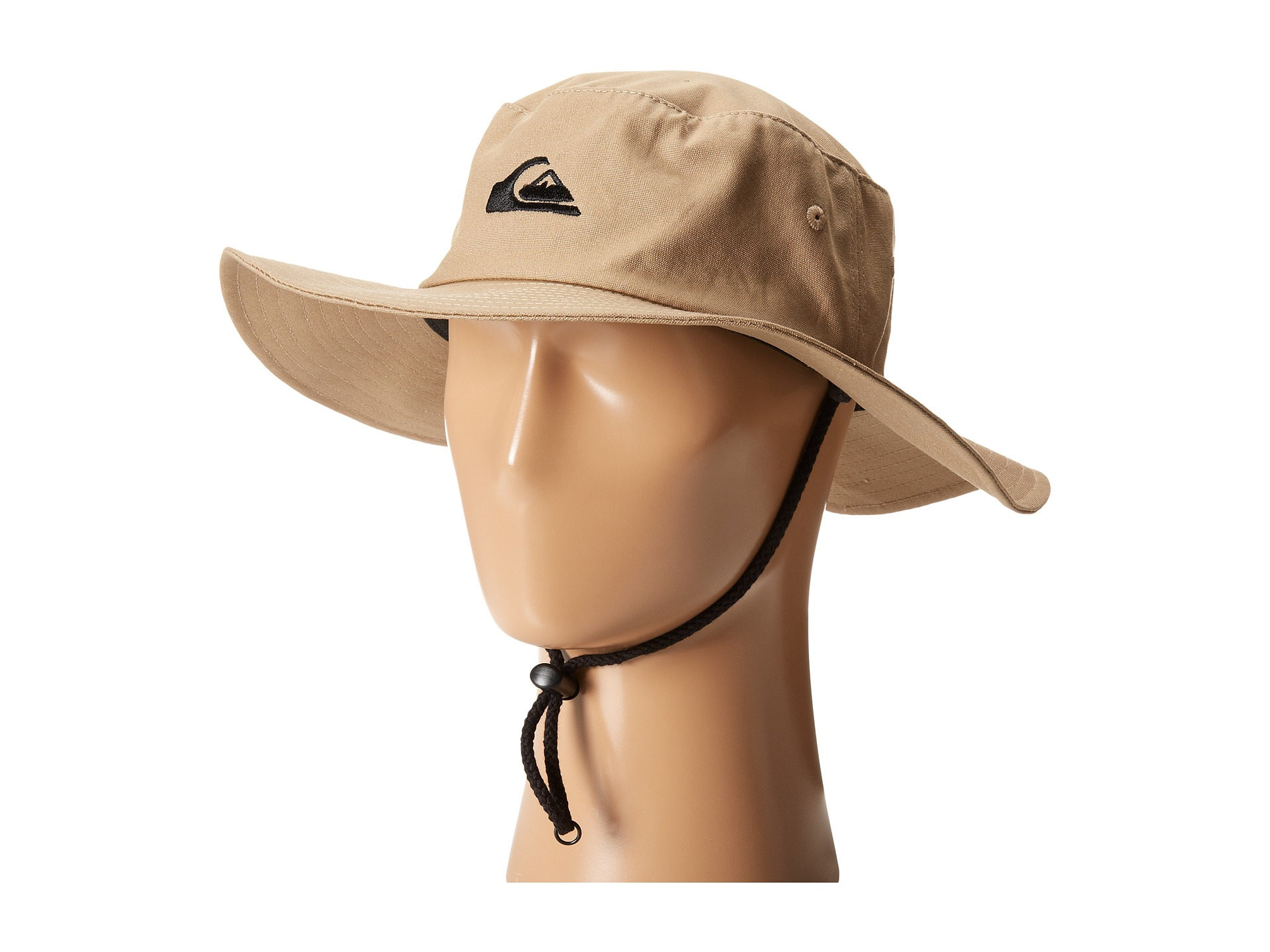 5a7b8aace483bf Quiksilver Original Bushmaster Hat in Natural for Men - Lyst