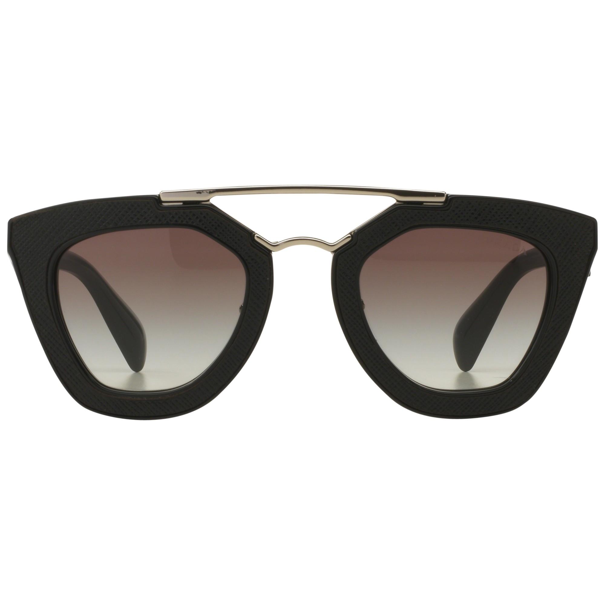 Prada Pr14ss D-frame Sunglasses in Black - Lyst