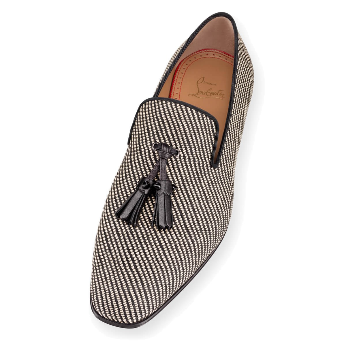 christian louboutin loafer pumps Brown tassels | cosmetics digital ...