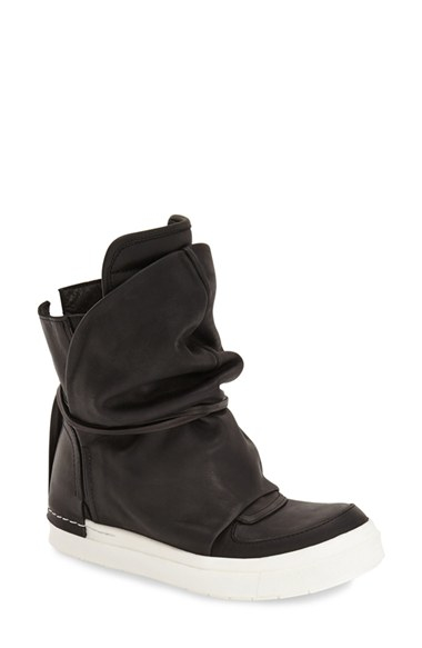 ca by cinzia araia wedge sneaker boot in black lyst