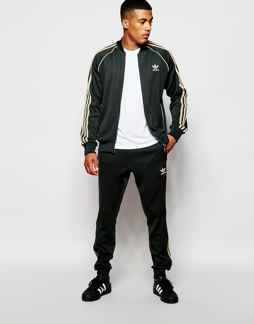 Adidas Originals Superstar Track Jacket Ab9716 In Gray For