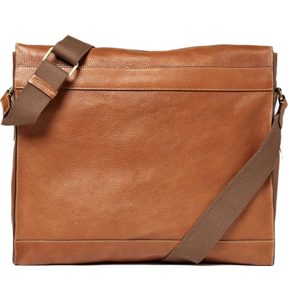 Lyst - Mulberry Brynmore Leather Messenger Bag In Brown For Men