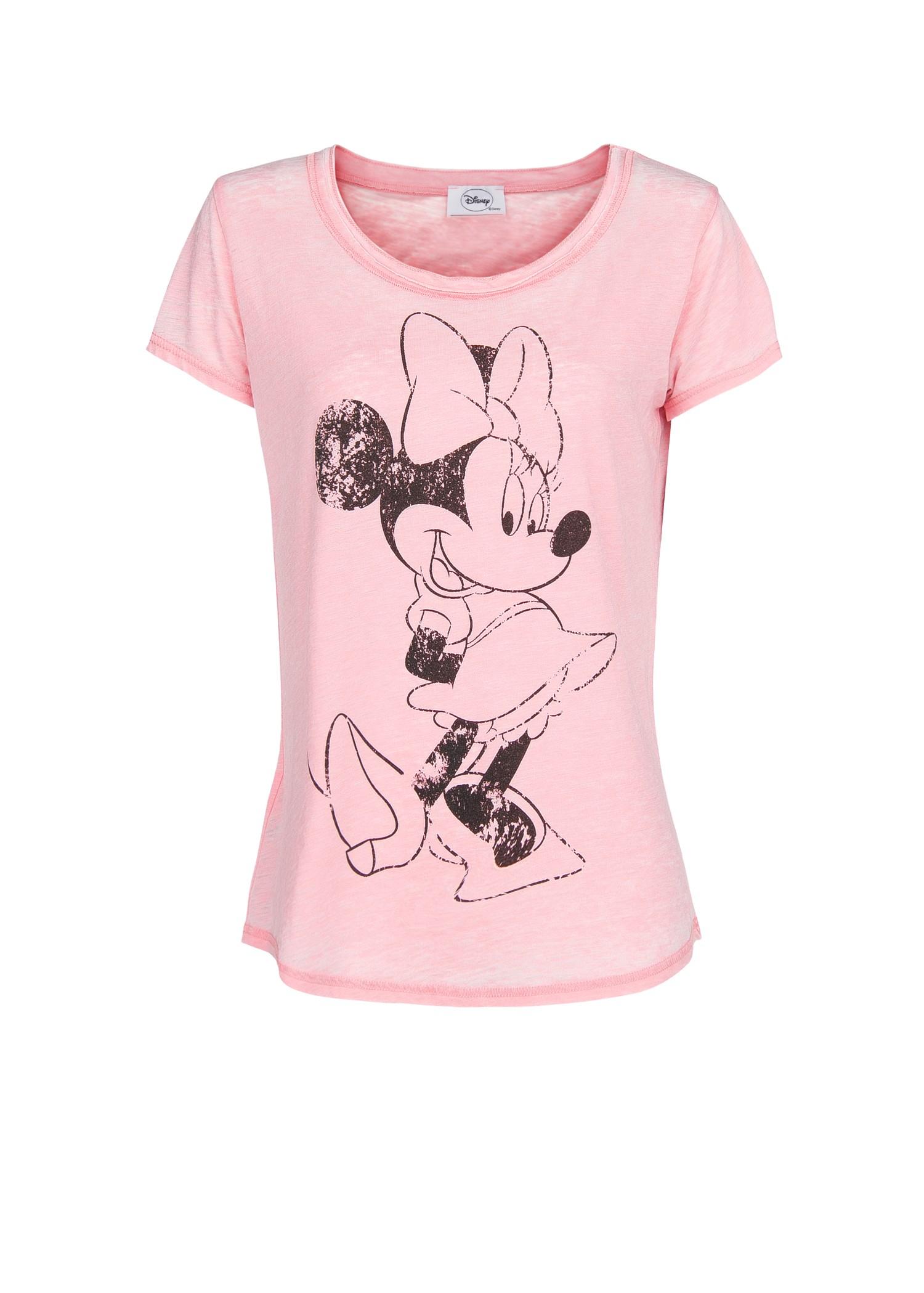 3b079ec3f177b3 Lyst - Mango Minnie and Mickey T-Shirt in Pink