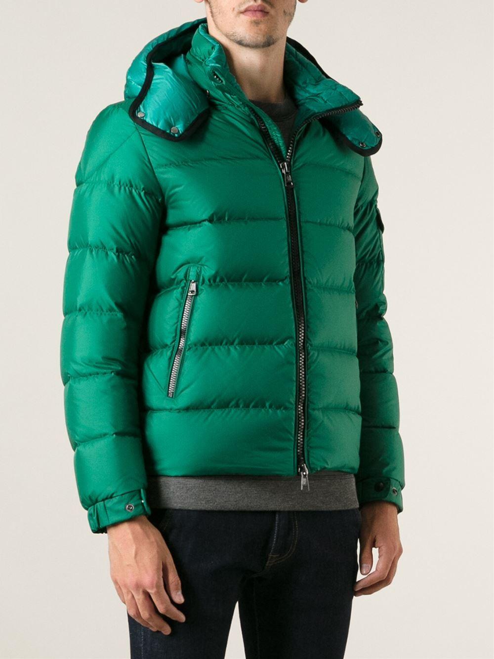 moncler green jacket