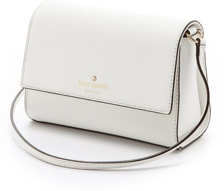 White Kate Spade Crossbody Bag 3