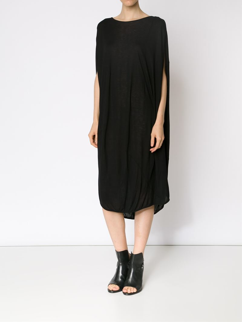 Lyst Unconditional Jersey Cocoon Dress In Black