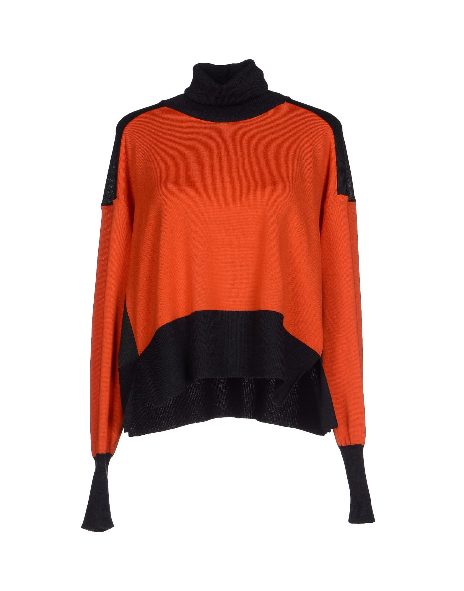 Mm6 by maison martin margiela turtleneck in orange lyst for Mm6 maison margiela