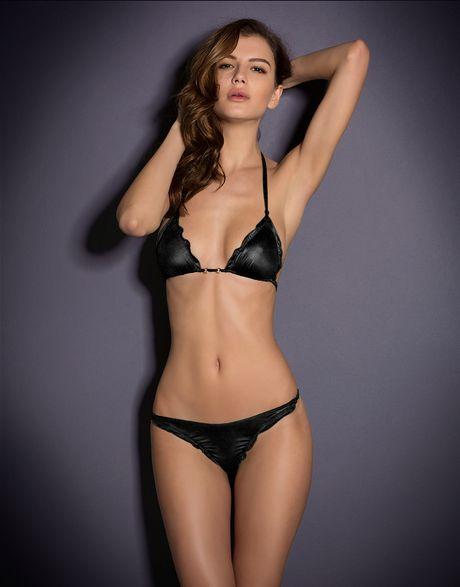 Agent Provocateur Berry Bikini Bra in Black