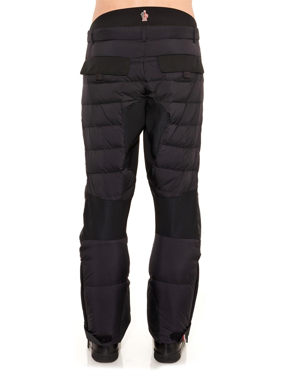 269130f4b Lyst - Moncler Grenoble Quilted Ski Trousers in Black for Men