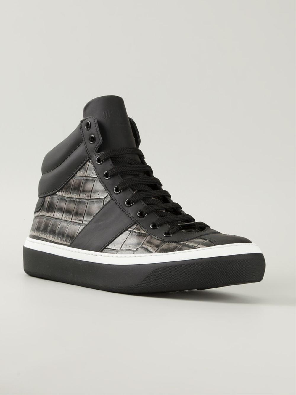 Jimmy Choo Belgravia High-Top Sneakers