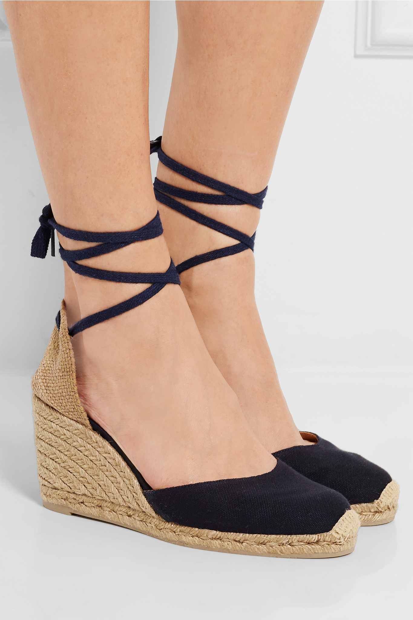 35defac7882 Castaner Carina Canvas Wedge Espadrilles in Blue - Lyst