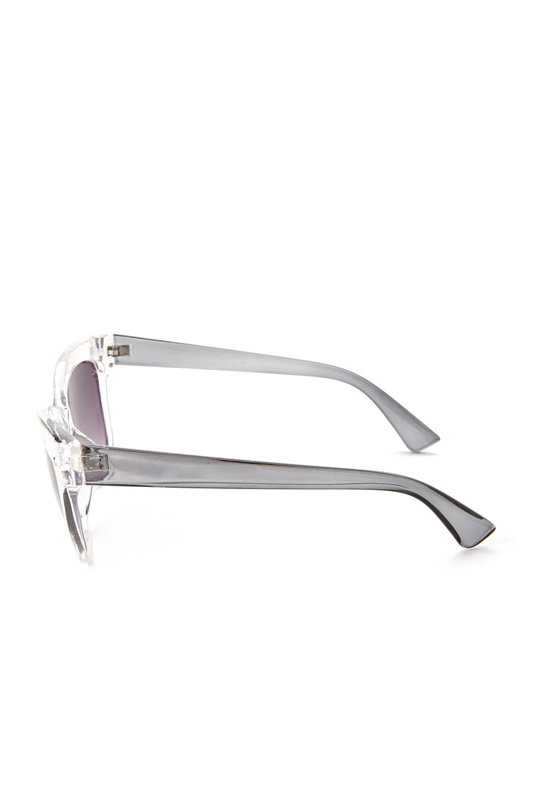 Lyst Forever 21 Clear Frame Sunglasses
