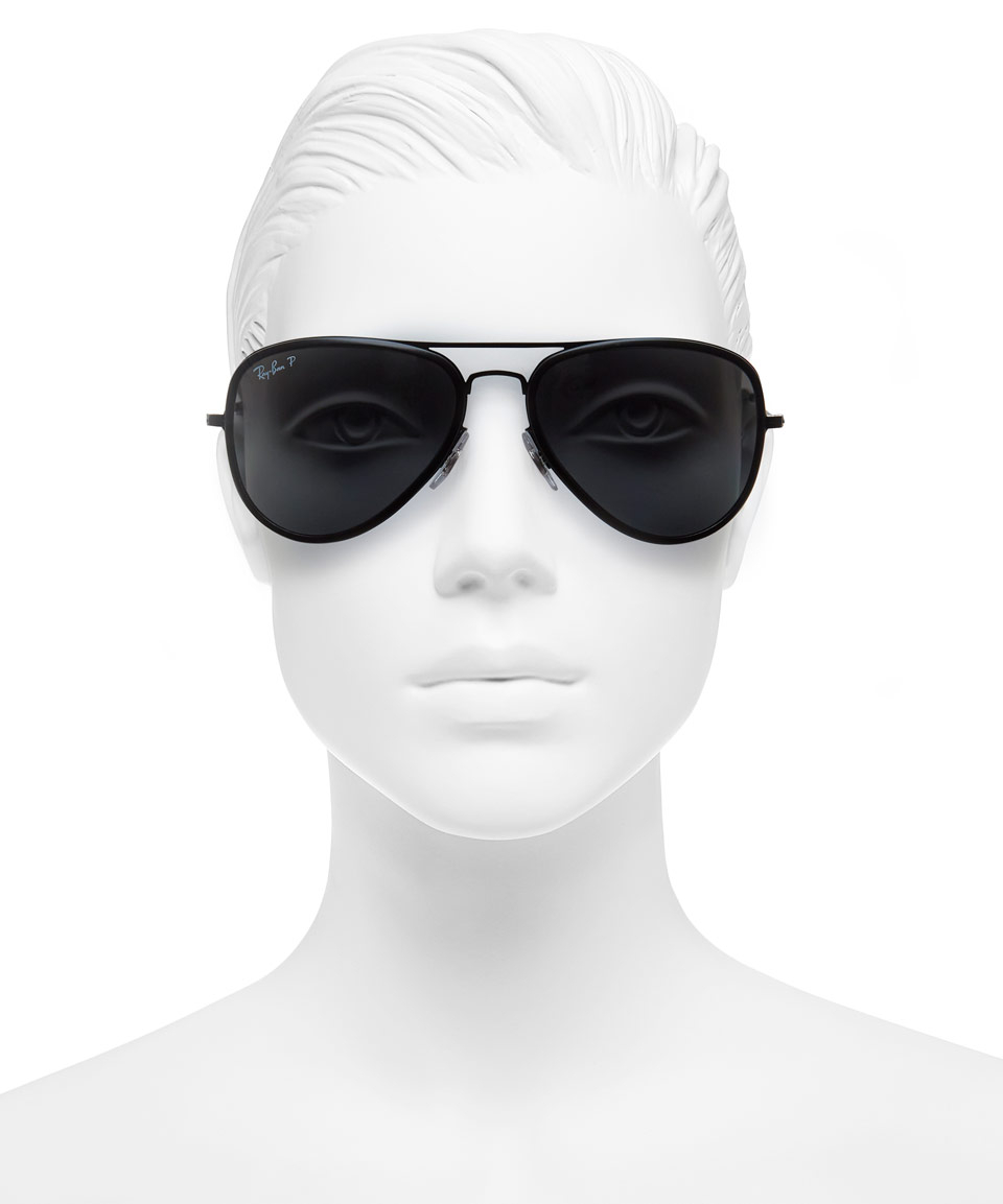 eb886f404ce ray-ban aviator large black sunglasses ray-ban aviator large black ...