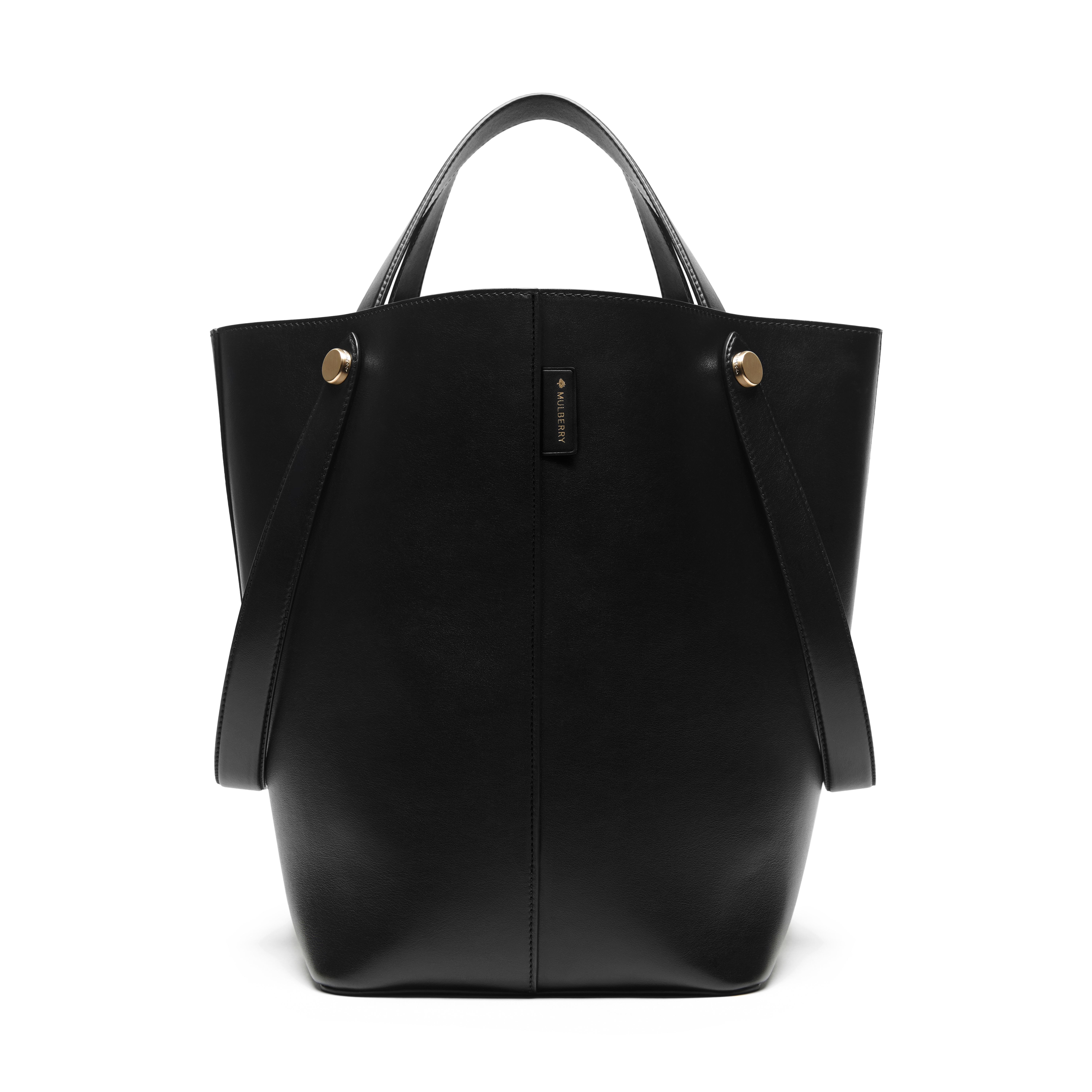 Lyst - Mulberry Kite Leather Tote in Black 1686b3c3d0fea