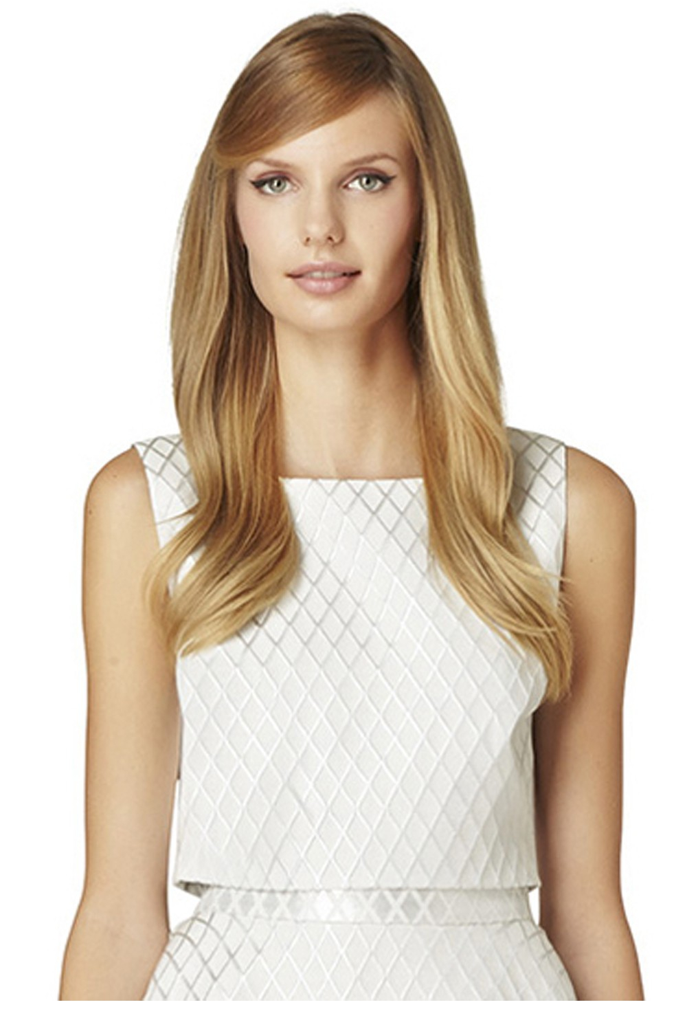 Erin Fetherston Nellie Top In White Silver Lyst