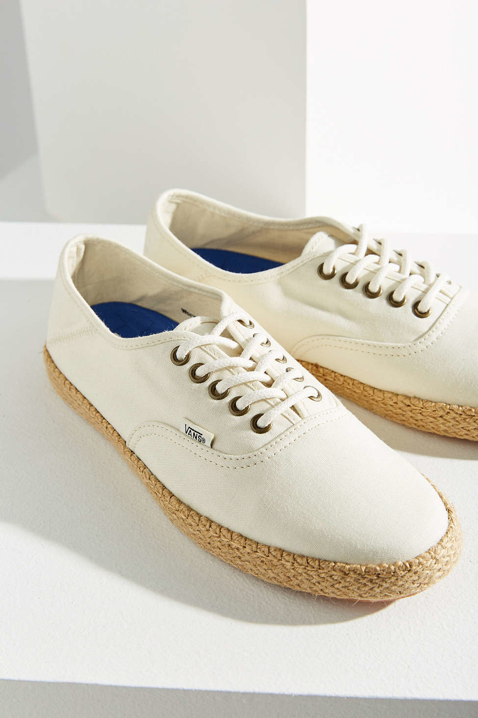 vans authentic espadrilles