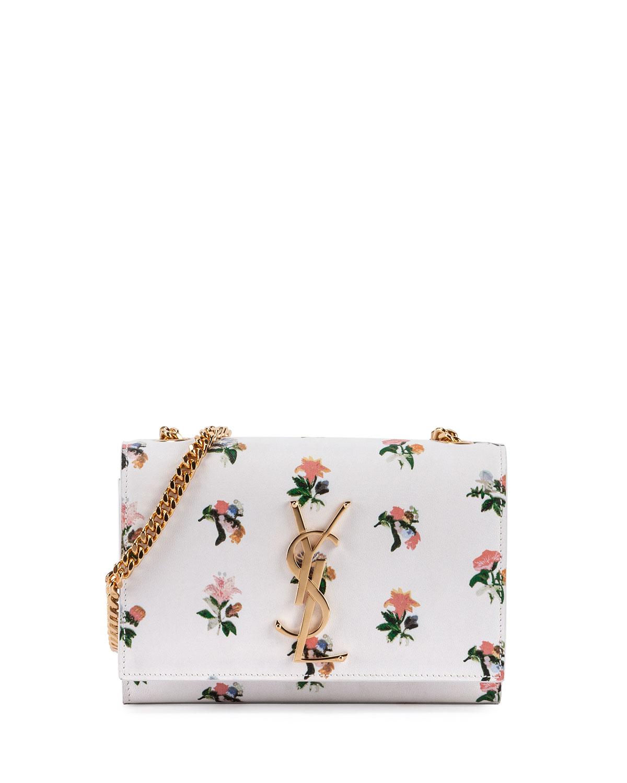 yves st laurent website - monogram saint laurent chain wallet in black and multicolor ...