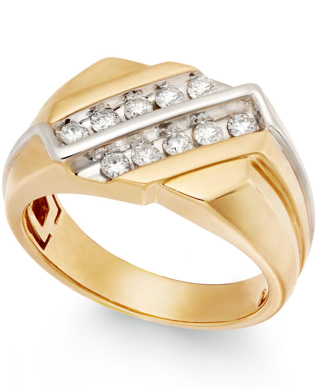 Mens Diamond Rings At Macy S