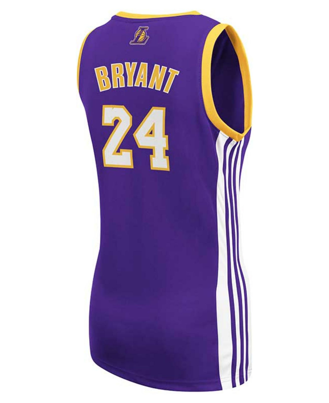 adidas Women's Los Angeles Lakers Kobe Bryant Jersey in Purple - Lyst