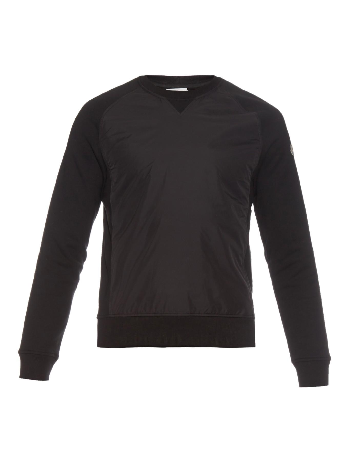 moncler jumper black