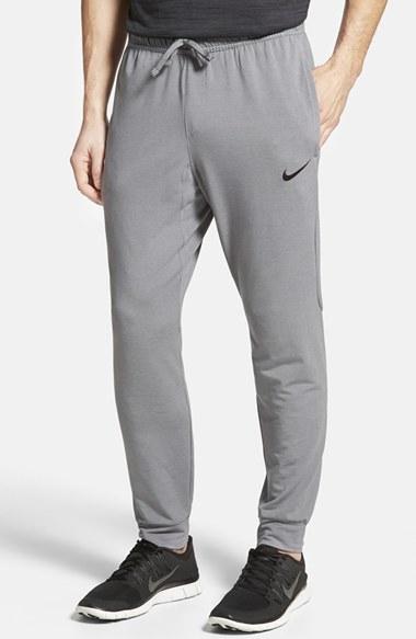 Nike Dri Fit Touch Fleece Sweatpants In Gray For Men Lyst