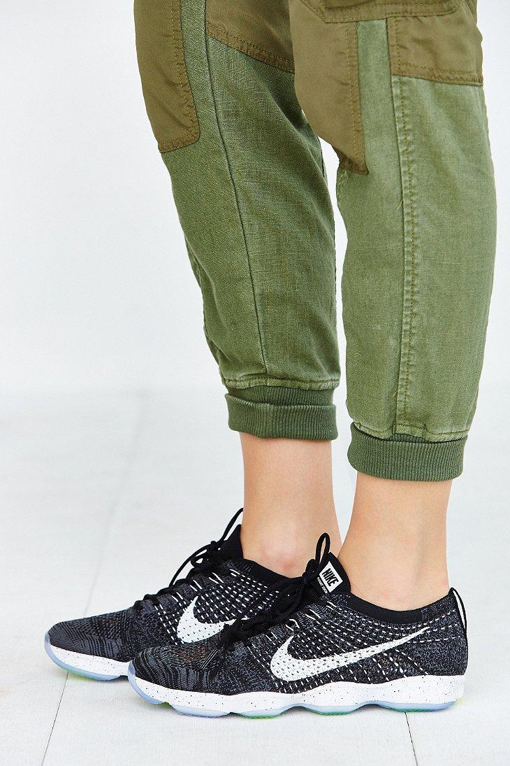 b04bd88798ea Lyst - Nike Flyknit Zoom Agility Training Sneaker in Black