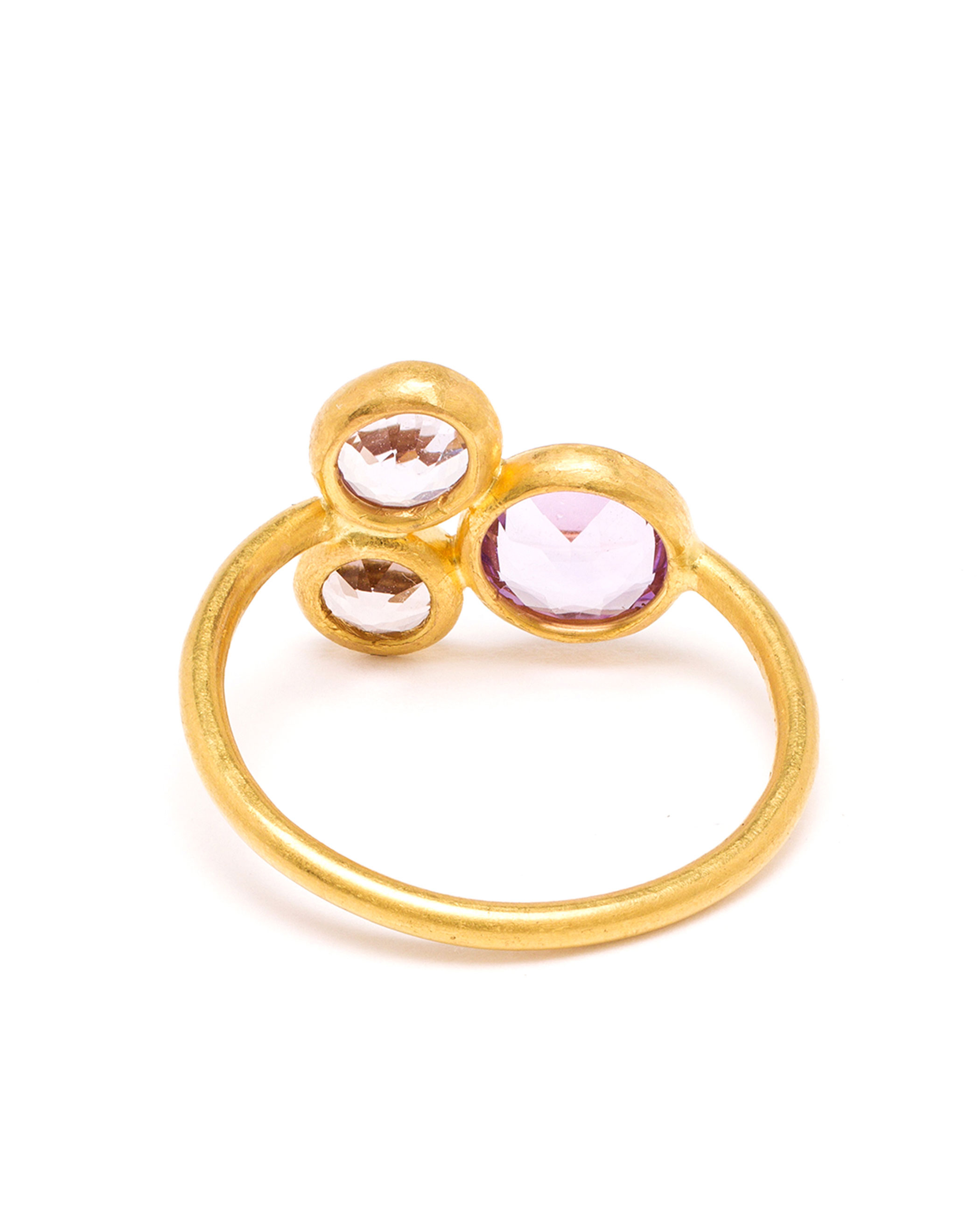 Marie-hélène De Taillac 18K Yellow Gold And Spinel Ring in Pink