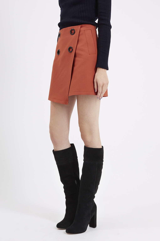 TOPSHOP Bunny Suede Knee Boots in Black