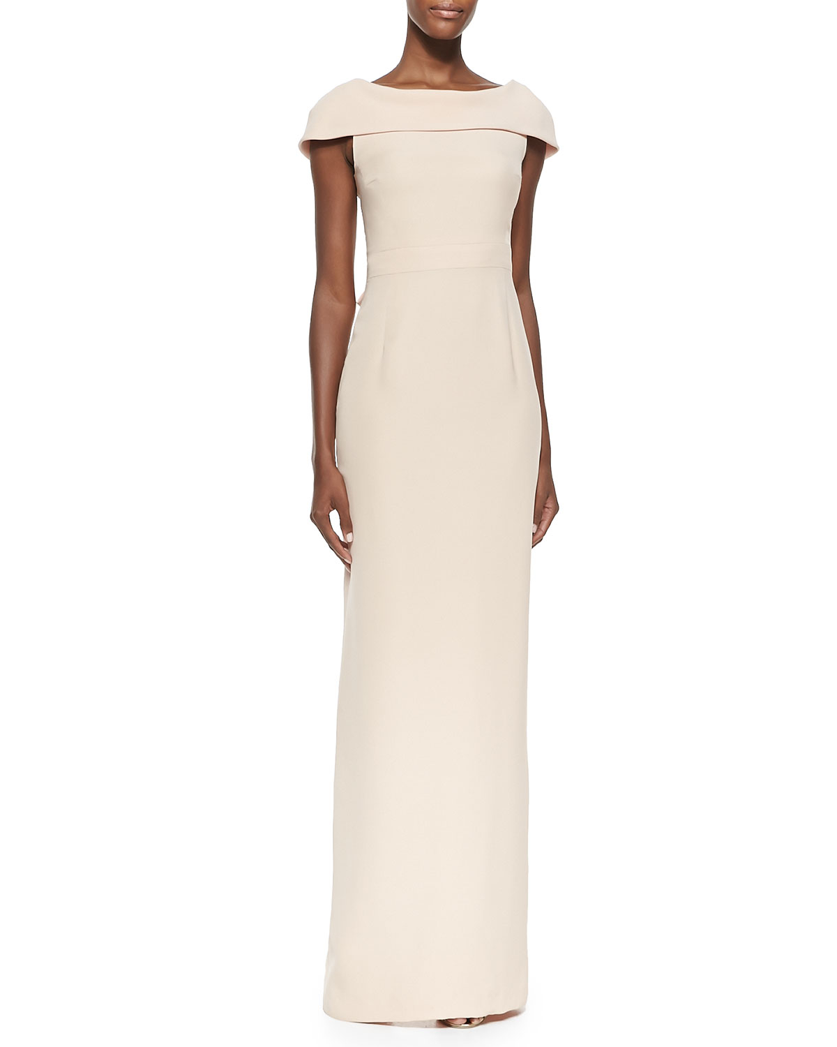 Lyst - Raoul Bridget Caped Silk Gown in Pink
