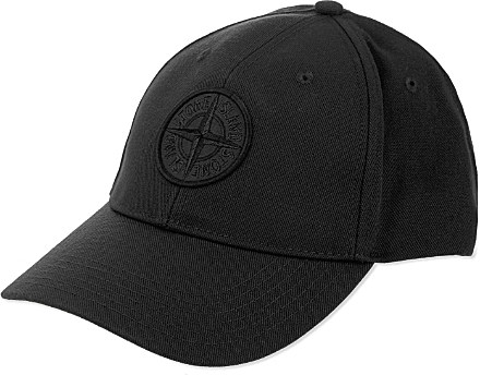 embroidered logo baseball cap - Black Stone Island iebb23fdGw