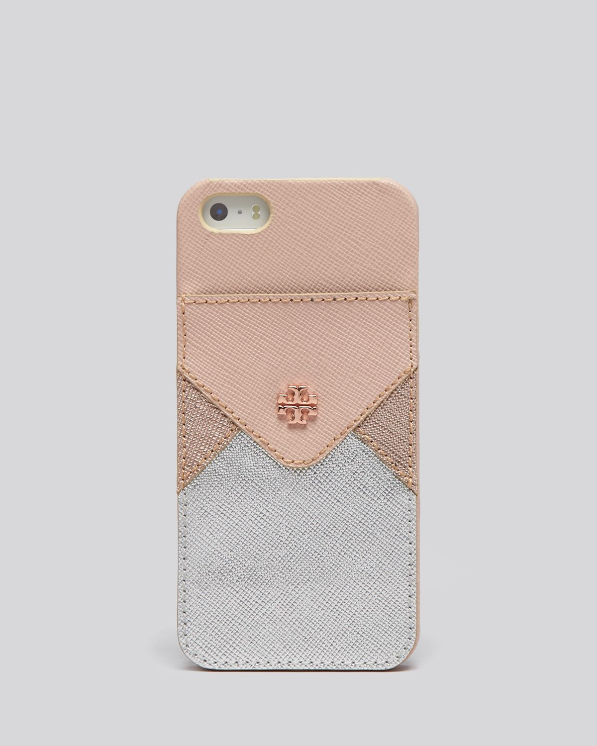 best authentic 1aeb9 93ee8 Tory Burch Pink Iphone 55s Case - Robinson Colorblock Hardshell