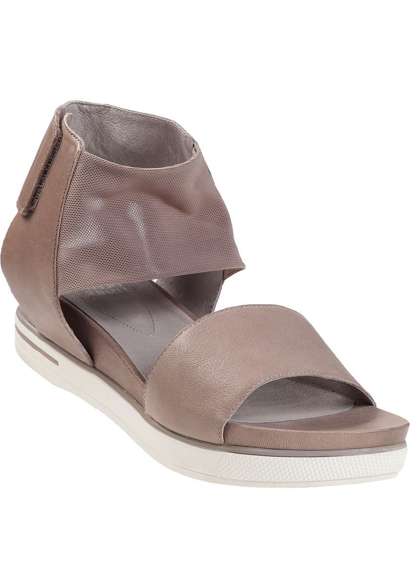 5dced87d41e2 Lyst - Eileen Fisher Spree Platform Sandal Quartz Leather in Natural