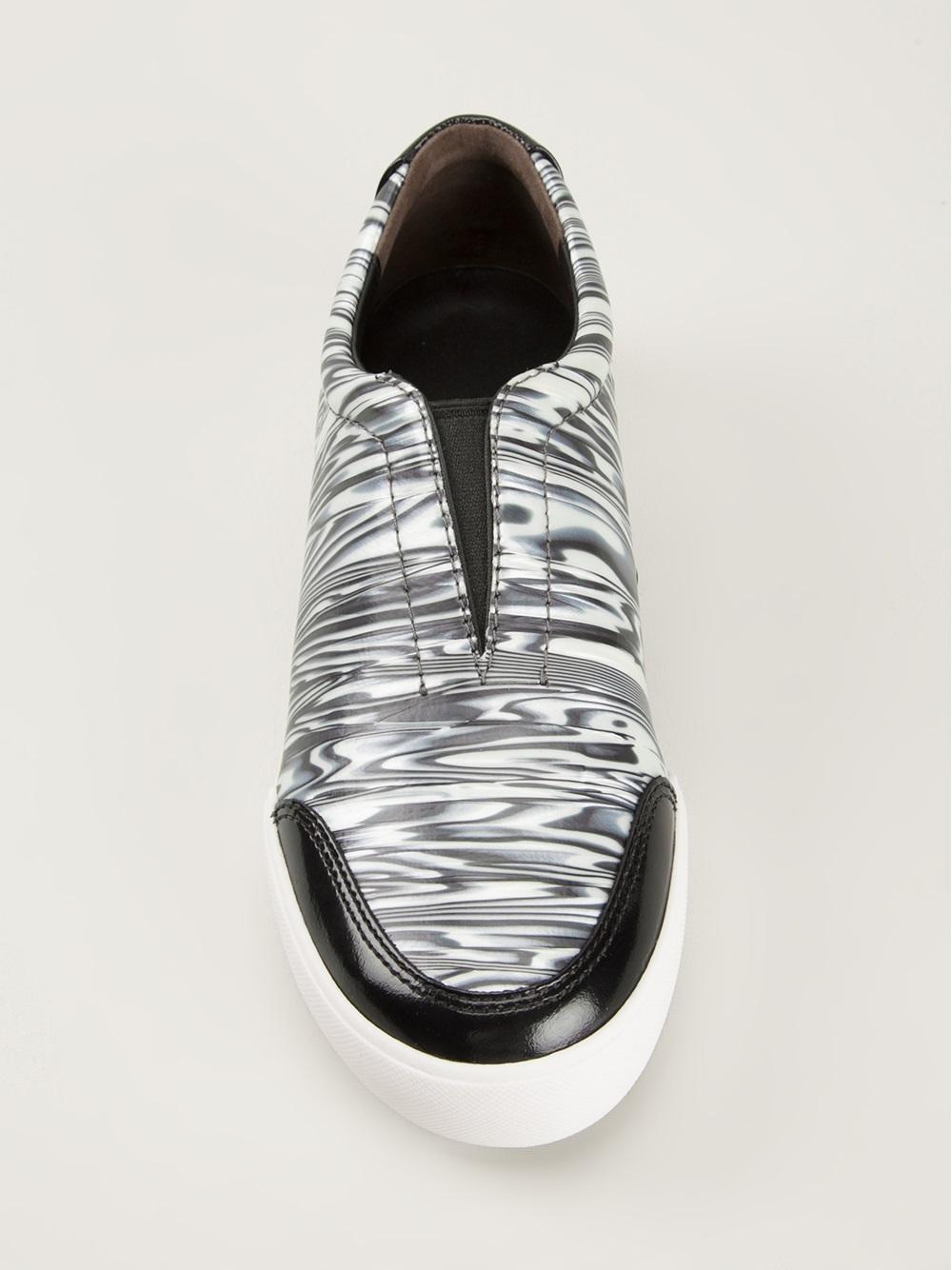 3.1 Phillip Lim Slip On Sneakers in Black