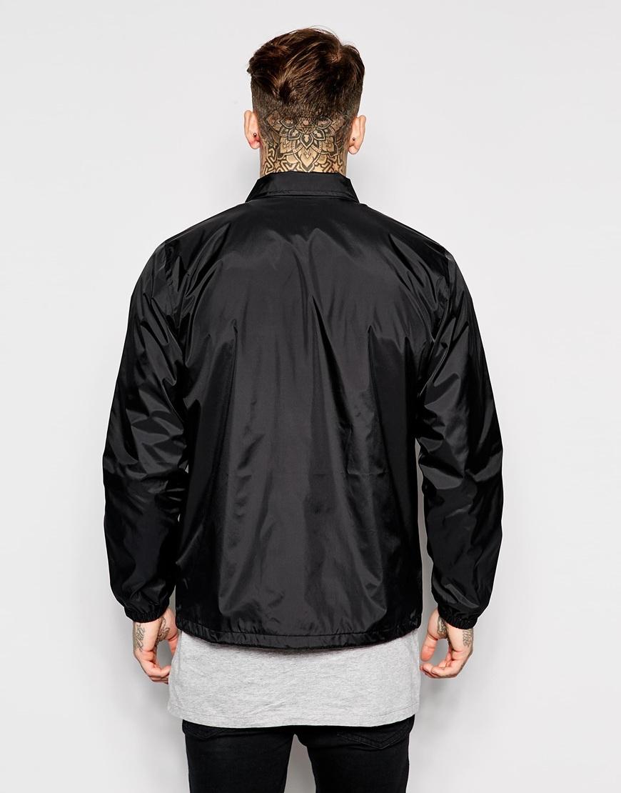 Lyst Carhartt Signum Coach Jacket In Black For Men