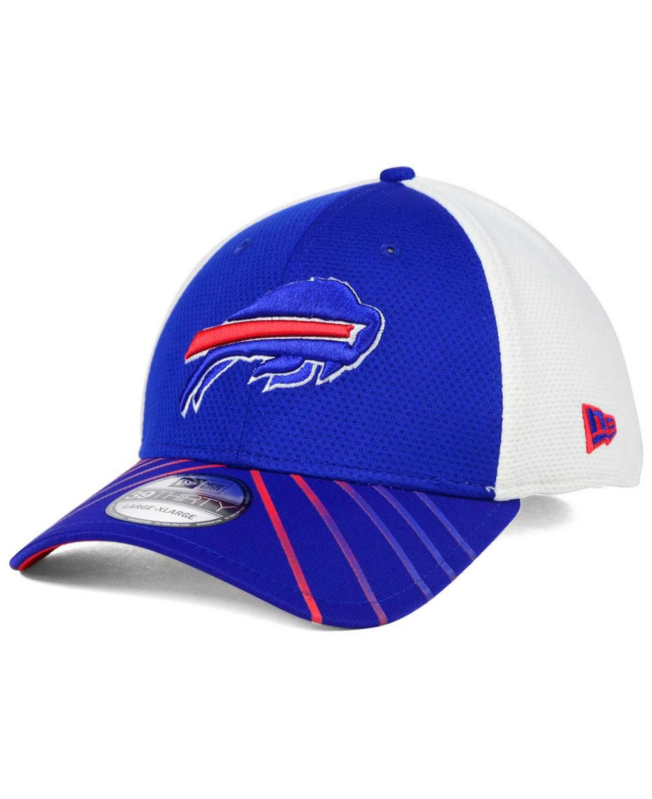 c7639e9e ... clearance lyst ktz buffalo bills fade back mesh 39thirty cap in blue  for men e02b0 bab36
