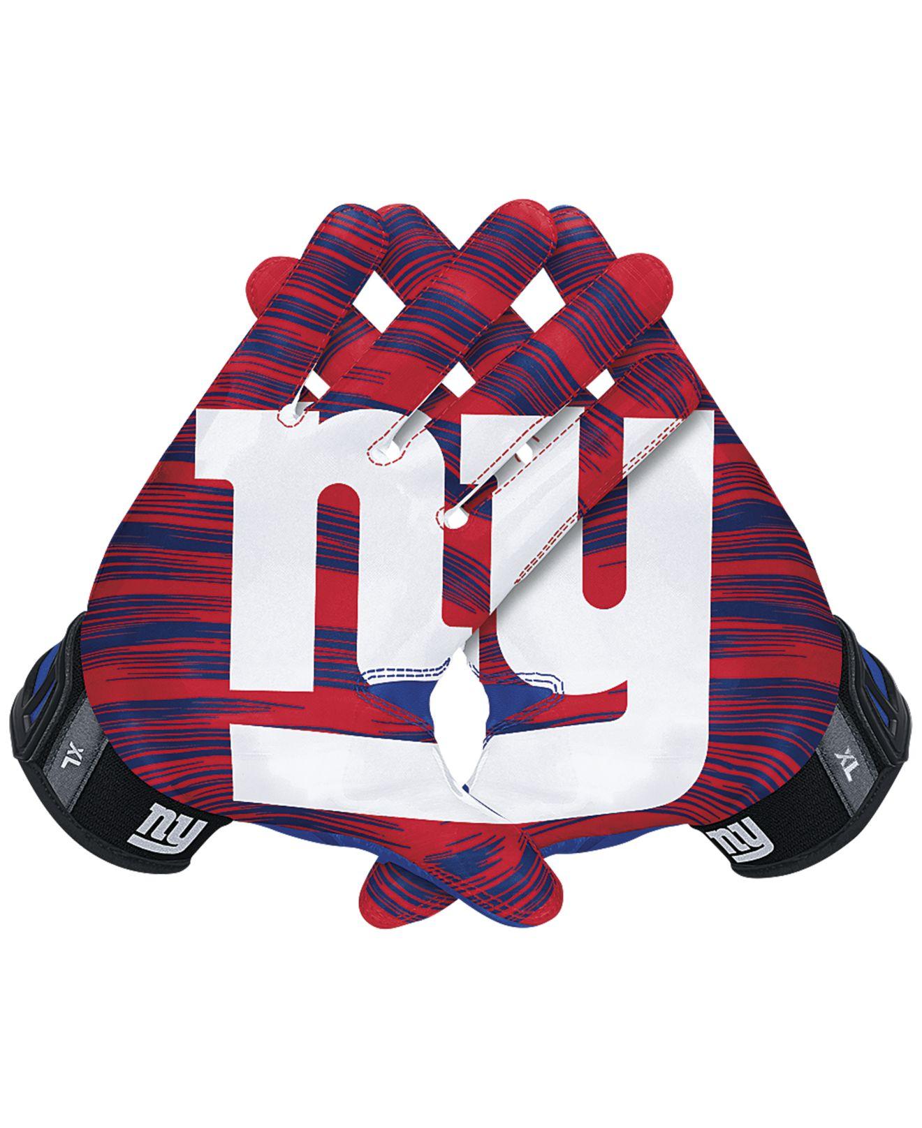 best sneakers 4fa5c e957a Men's Red New York Giants 30 Vapor Jet Gloves