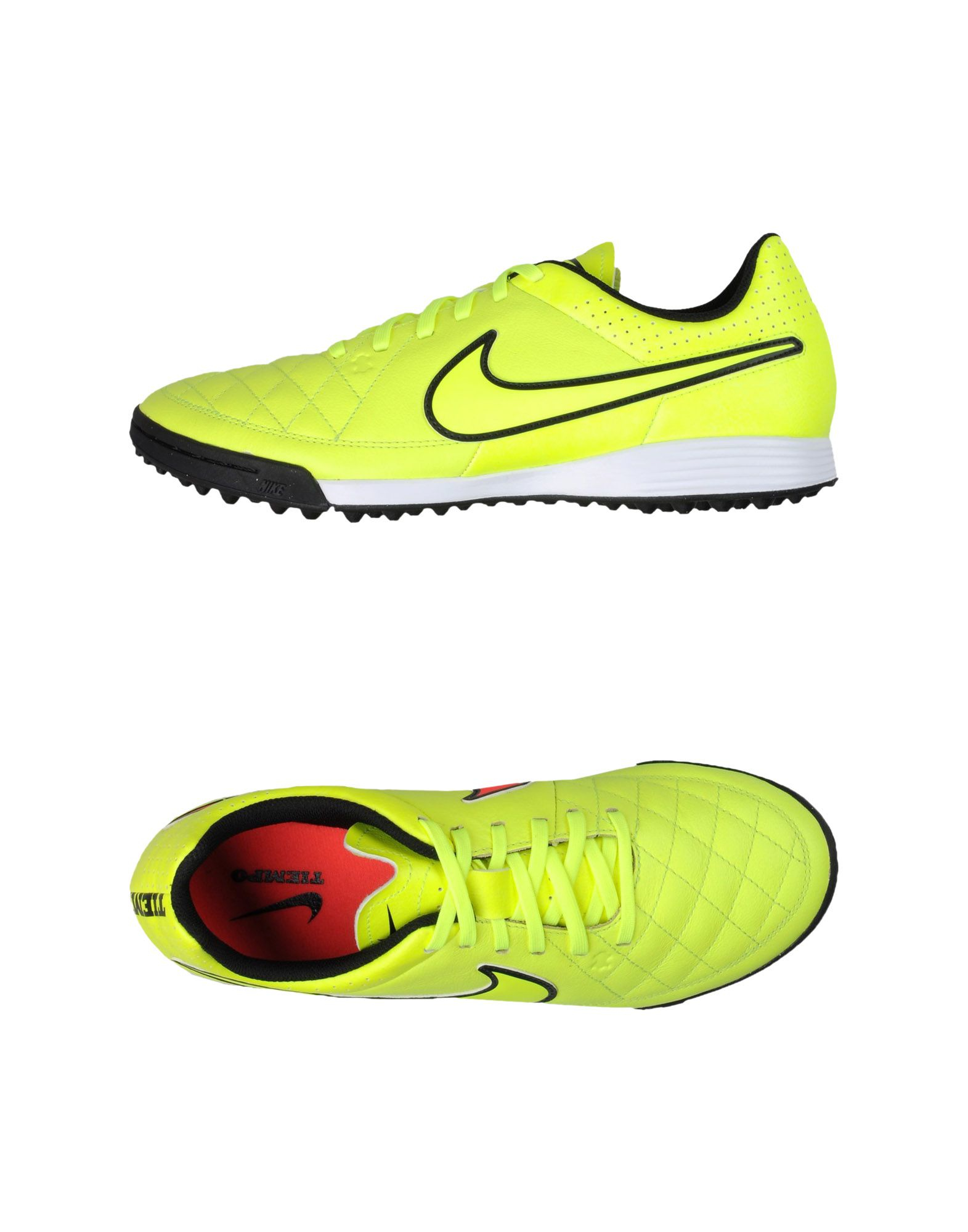Nike Low Tops Amp Trainers In Yellow For Men Lyst