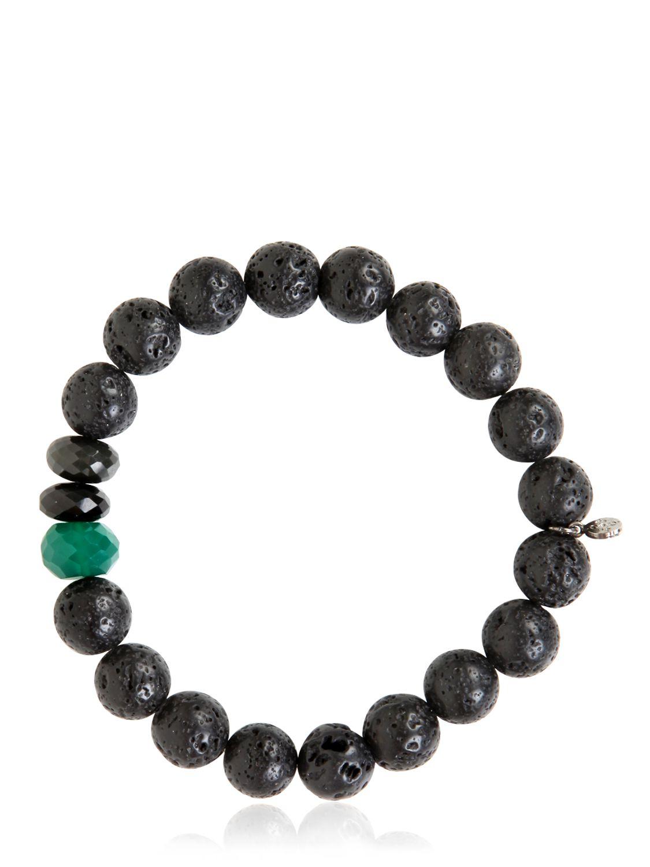 ocnarf sairutsa rock and raw bracelet in green lyst
