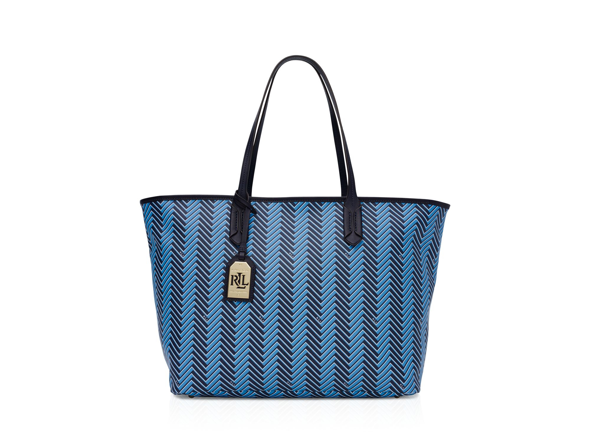 Lyst - Pink Pony Lauren Boswell Classic Tote in Blue f0b030edc3a3a