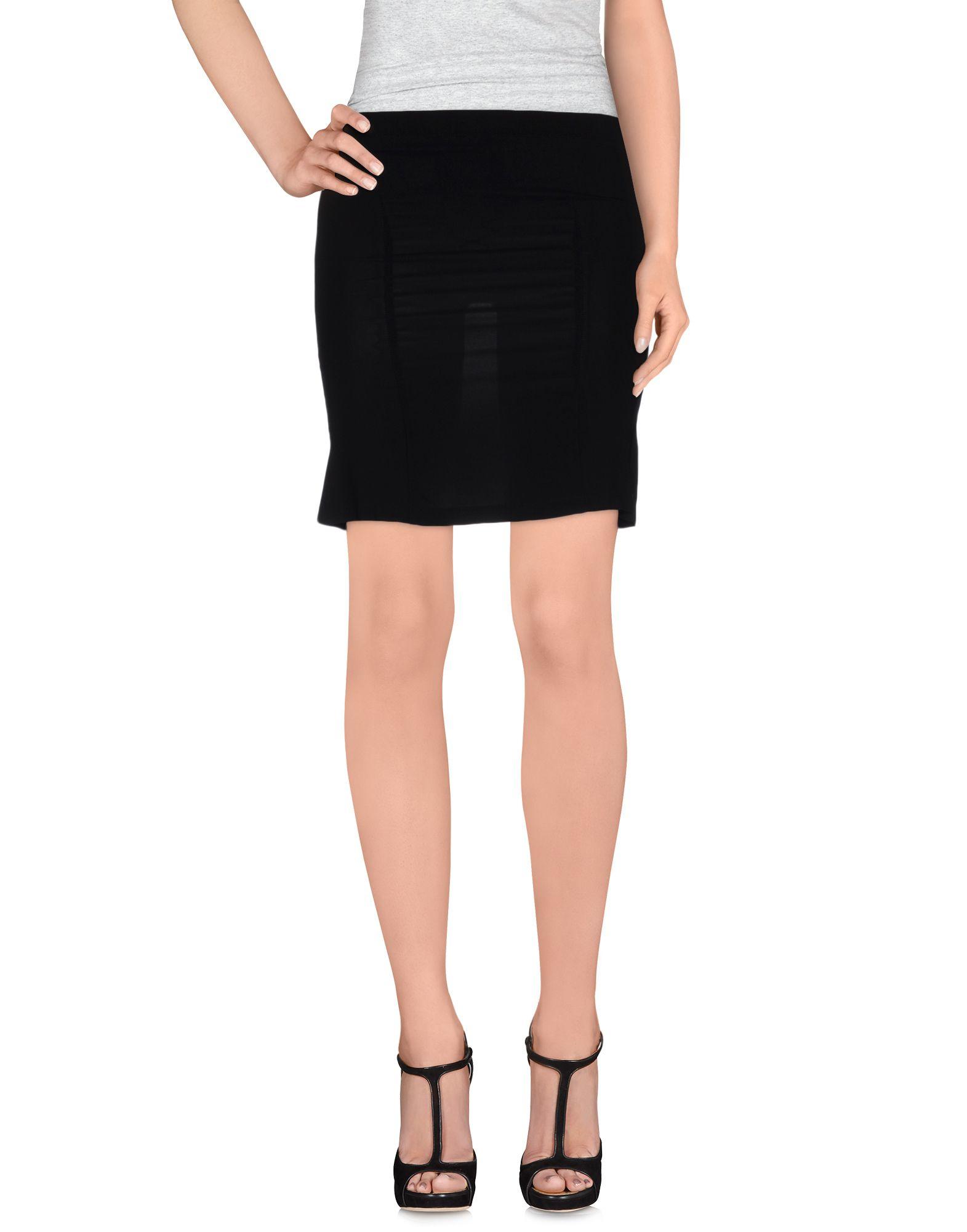jucca mini skirt in black lyst