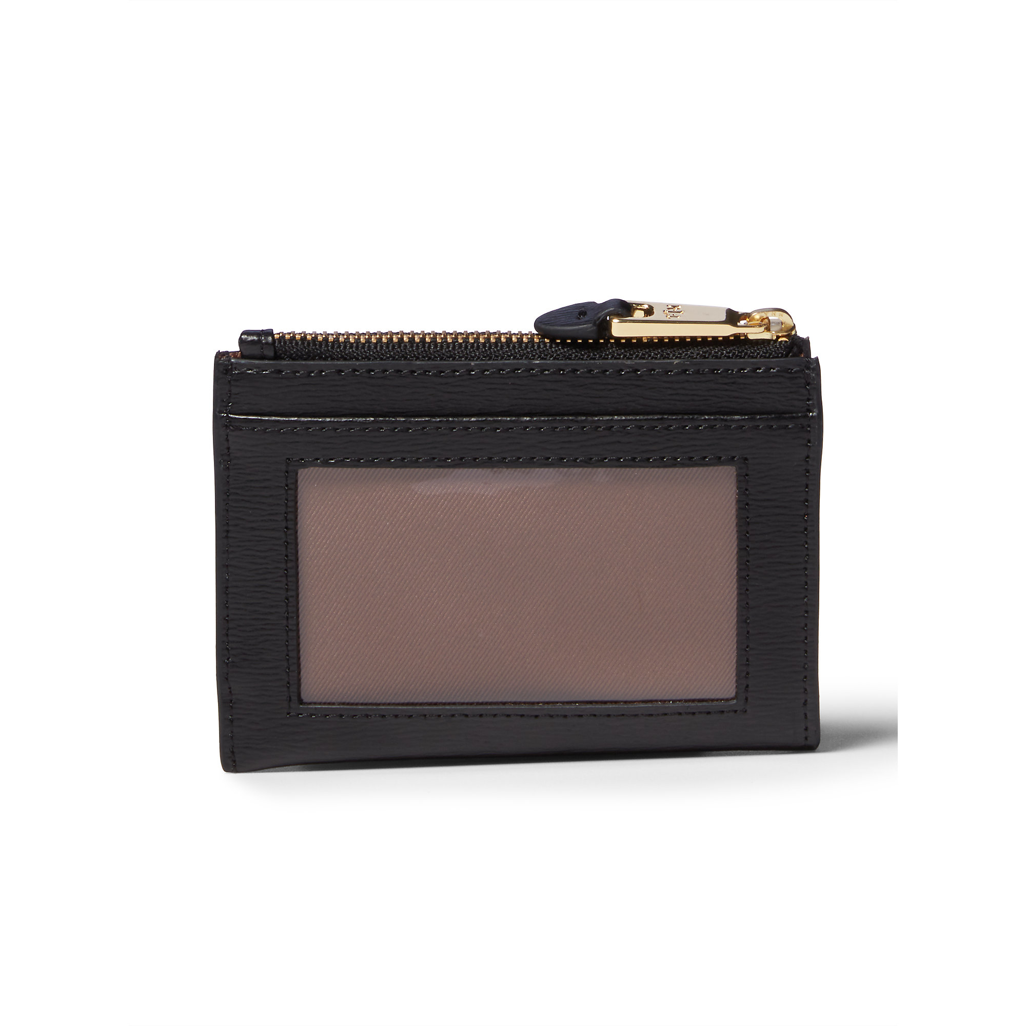 Lyst - Ralph Lauren Newbury Leather Coin Pouch in Black ca400c6db6