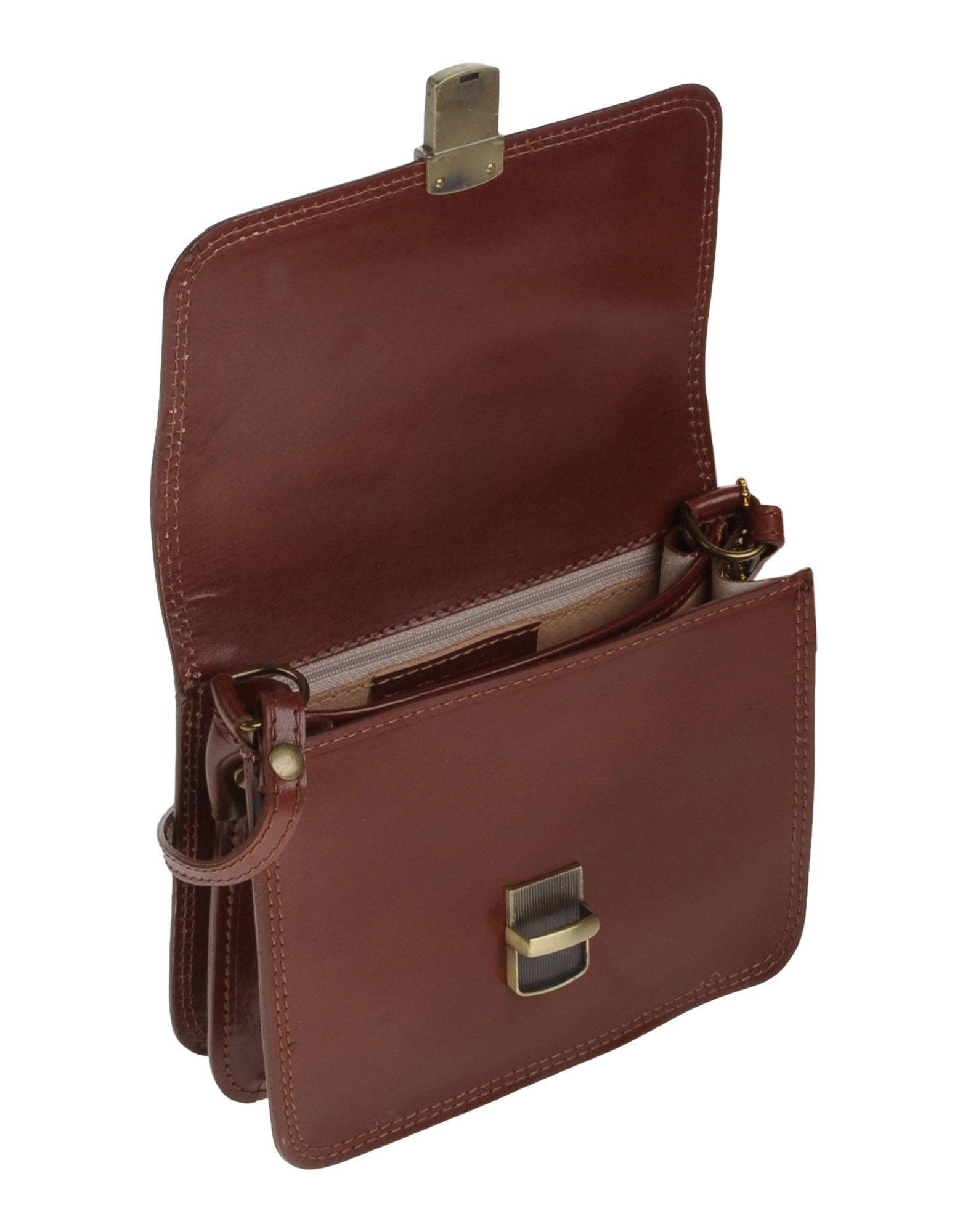 Ore10 Leather Cross-body Bag