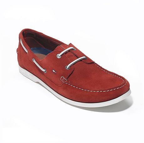 Tommy Hilfiger Boat Shoes For Men